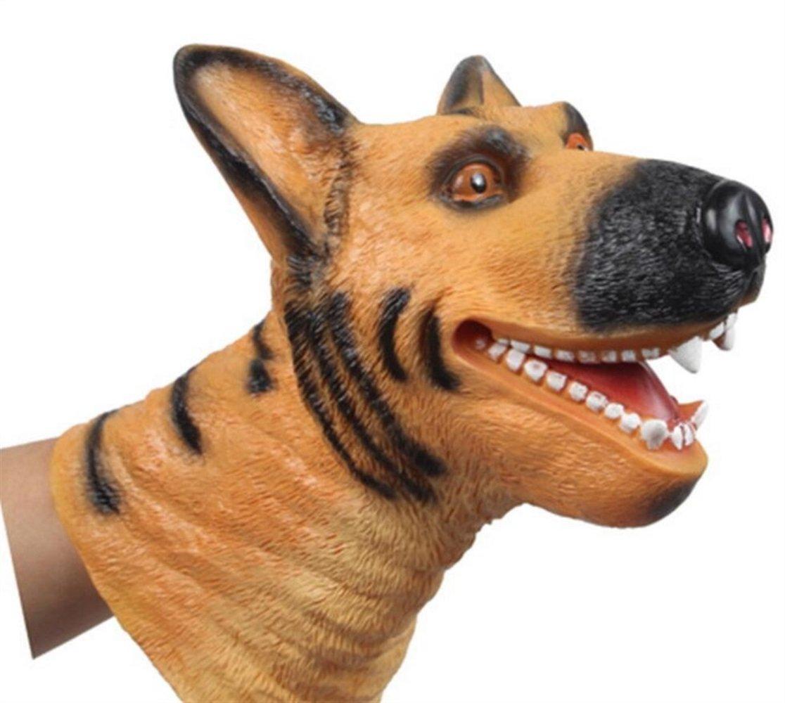 Much Fan Soft Rubber Animal Handpuppe (Hund) PvxgIo