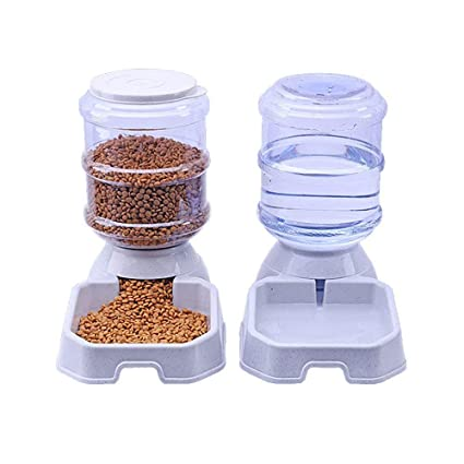 VBFFS Resorte De Agua Bendecido del Gato De La Familia, Alimentador Automático del Gato,