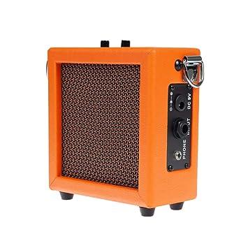 FLAMEER 1 Pieza Mini Amplificador de Guitarra Ukulele Altavoz ...