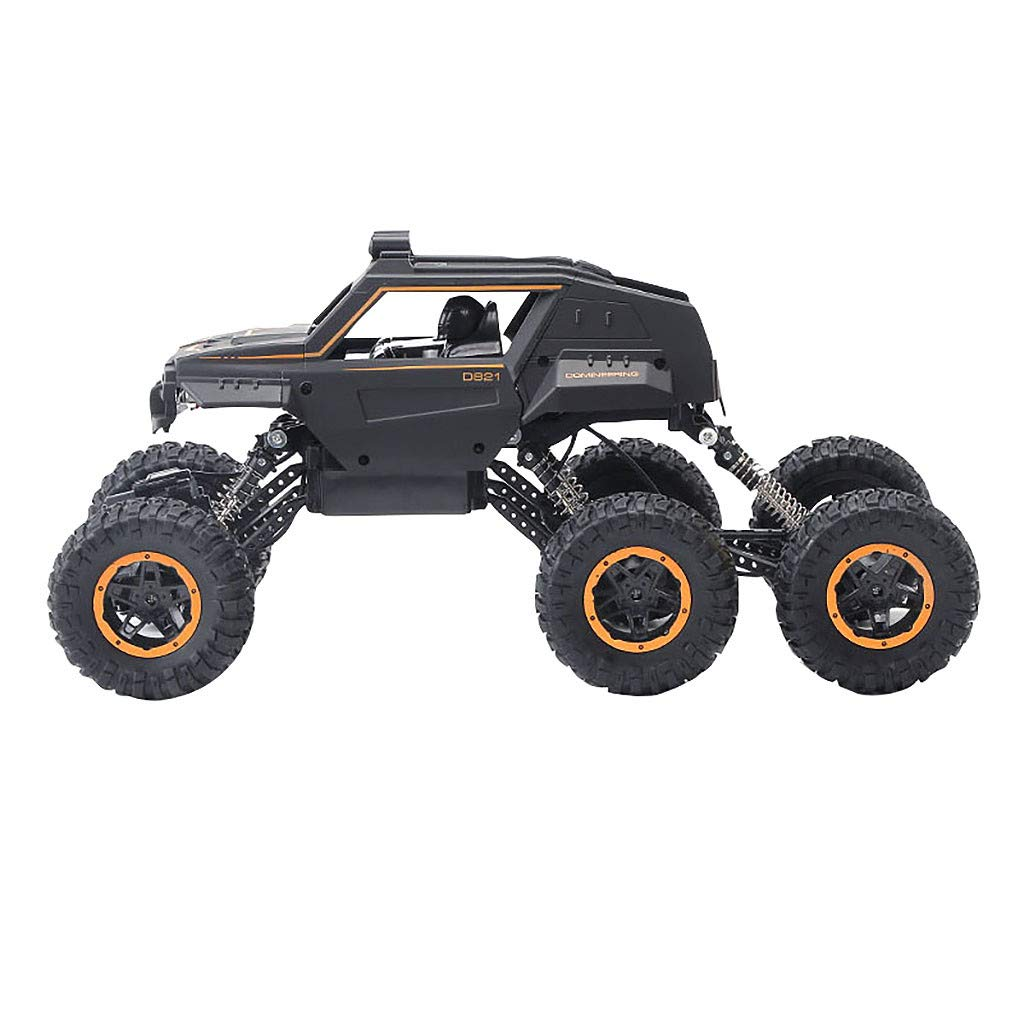 2.4GHZ 6WD Remote Control Off-Road Truck High Speed Climbing Car RC Rock Crawler Off Road Vehicle Toy Climbing Buggy Electric Climbing Car for Kids and Adults