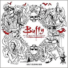 Amazon.com: Buffy the Vampire Slayer Adult Coloring Book ...