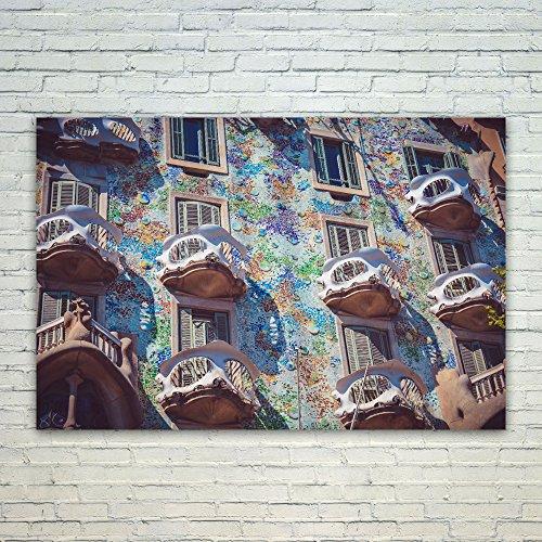 Westlake Art Poster Print Wall Art - Casa Batll - Modern Pic