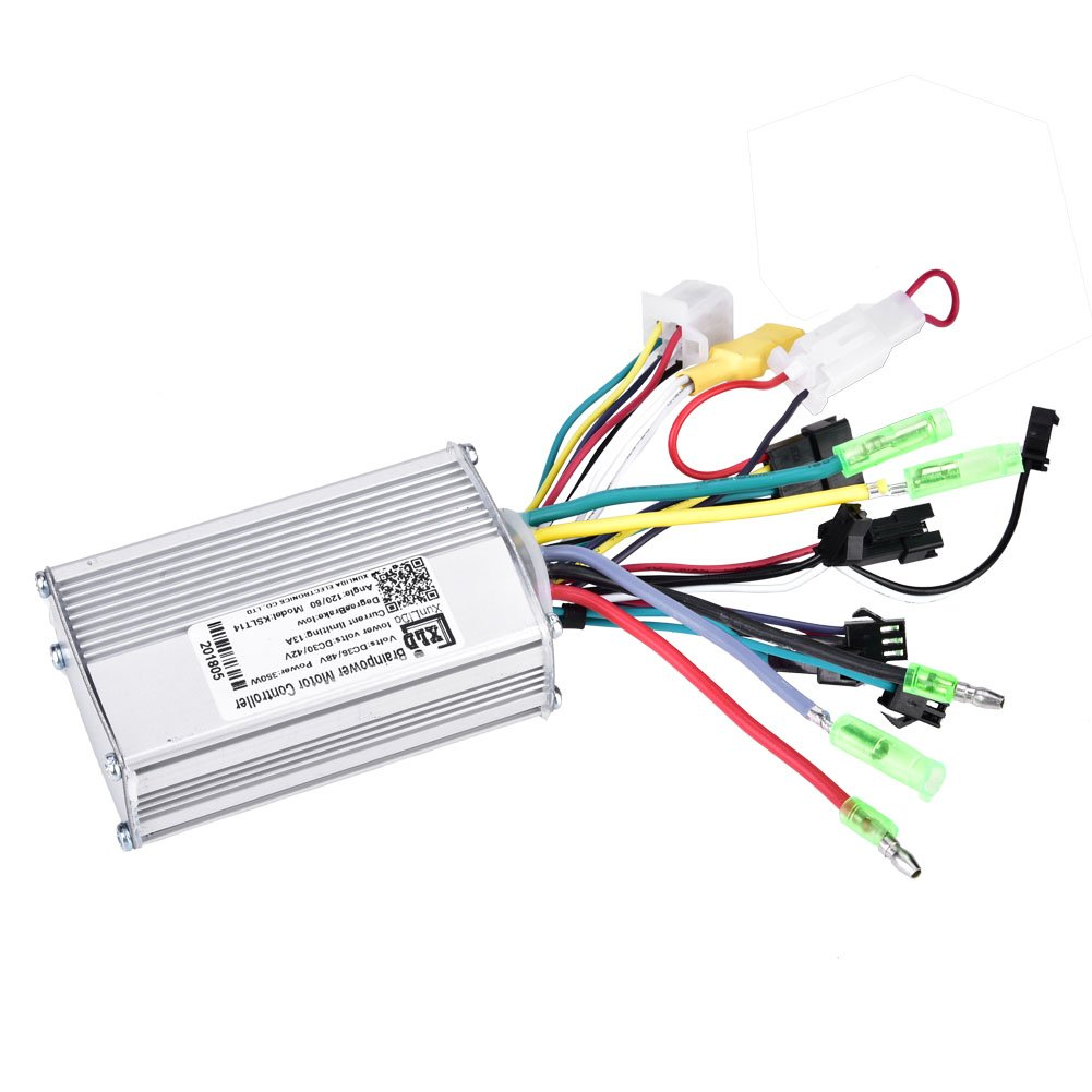Vbestlife Electric Bicycle Speed Controller,36V/48V 350W Brushless Speed Motor Controller with LCD Panel for E-bike Electric Bike Scooter by Vbestlife (Image #7)