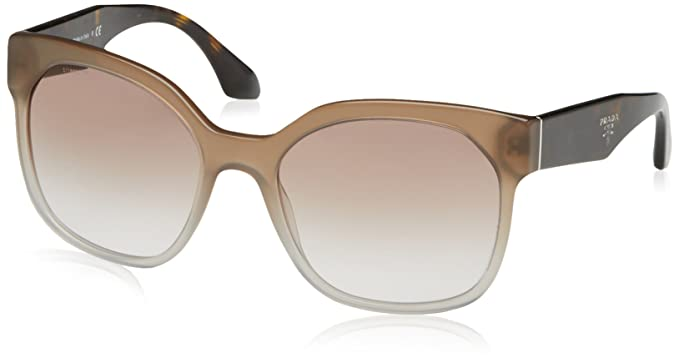 faa9424eb01a ... sweden prada womens oversized fashion square sunglasses gray o s 95aed  fbb81