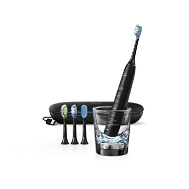 Philips HX9924/11US Sonicare Diamond Clean Smart Electric Rechargeable toothbrush Black