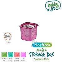 Hobby Life 21156 Saklama Kapları, Plastik, 380 ml