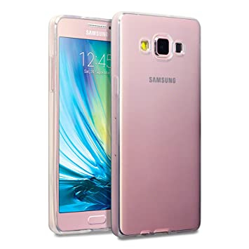 wholesale dealer 6f882 865d9 TERRAPIN, Compatible with Samsung A5 2015 Case, TPU Gel Cover - Full Clear