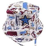 Happy Cherry Toddler Boys Bucket Hat Sun Protection Beach Swim Hat With Strap M