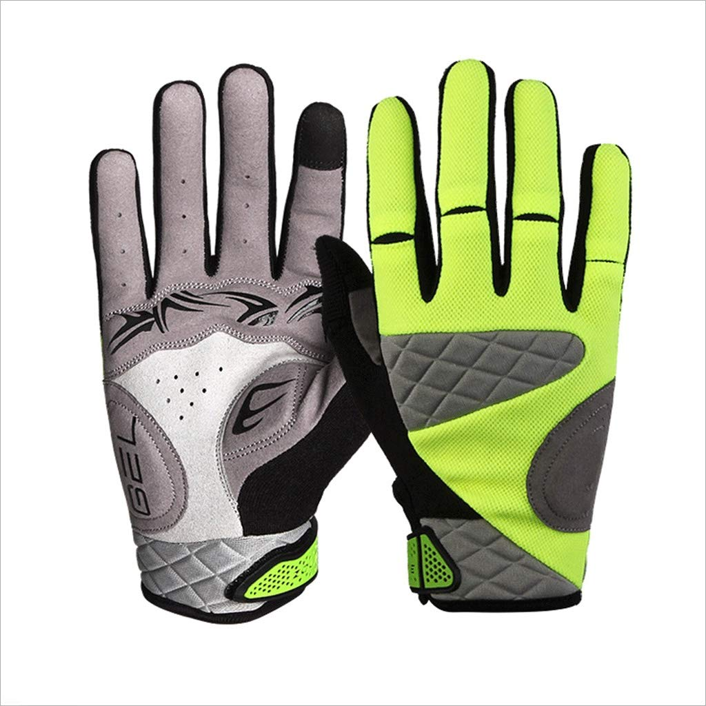 ZDYLL Touch Screen Gloves, Winter Gloves Driving Cycling Gloves Work Gloves for Men and Women (Size : Green-M) by ZDYLL