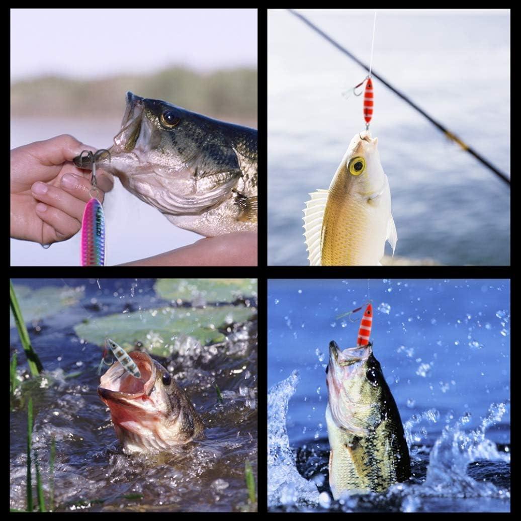 Donad Slow Jig Metal Lure Shore Casting Jigging Lead Vertical Bait Sea Bass Fishing Lure Spoon Jig Fishing Lure40g 60g