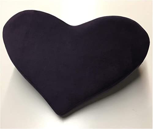 LIBERAT0R Heart Pillow, Plum