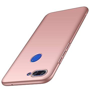 AOBOK Funda Xiaomi Mi 8 Lite, Ultra Slim Duro Fundas Anti-Rasguño y Resistente Huellas Dactilares Totalmente Protectora Caso Duro Carcasa Case para ...