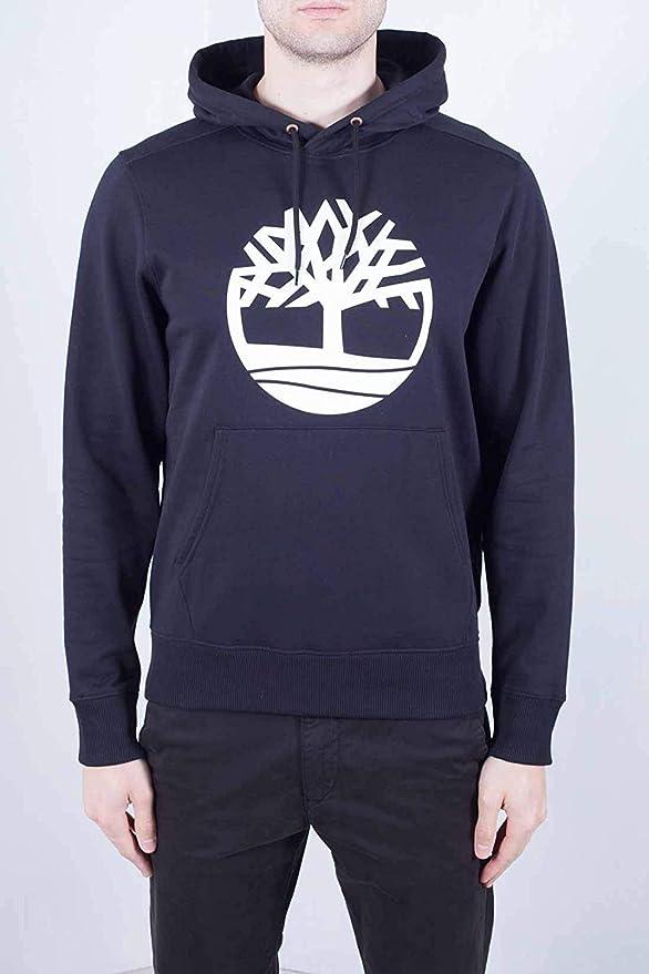 Timberland Uomo Core Logo Po Pullover con Cappuccio 0A1ZKY