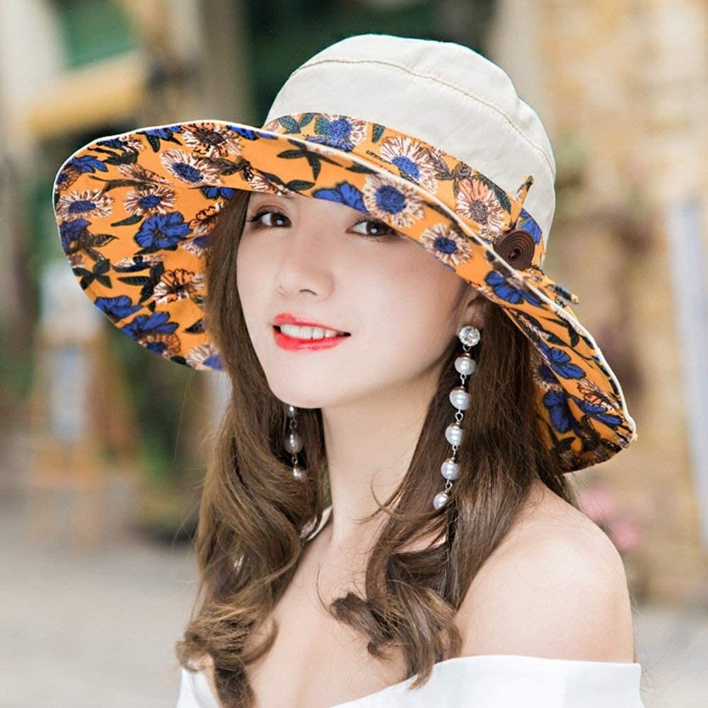 The taste of home Sun Hat Women Portable Cool Wind Rope Leisure Adjustable 6 Colors Optional Summer Sun hat