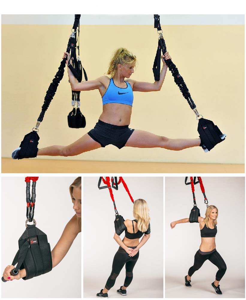 YNXing Aerial vitality bungee rope| resistance rope |air yoga stretch belt |yoga rope fitness vitality rope for Men and Woman by YNXing (Image #7)