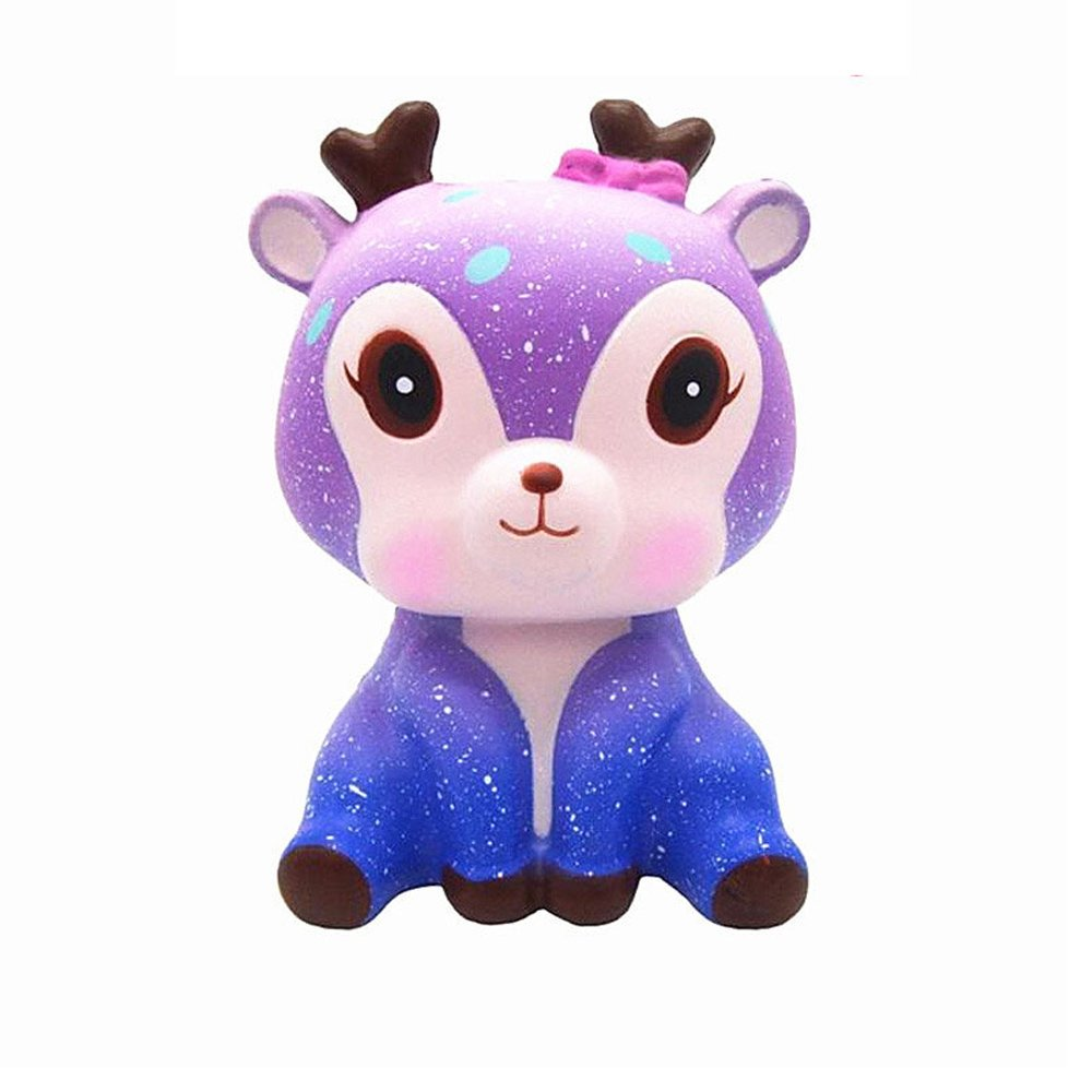 Anti Stress Slow Rising Squishy Toy Kawaii Deer Unicorn Scent Toys For Kids and Adults TJ