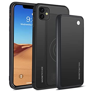 Scheam Funda Batería iPhone 11 6.1 Inch ,5000mAh Funda ...