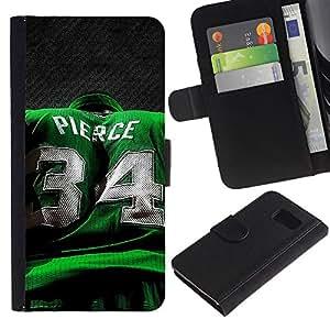 Stuss Case / Funda Carcasa PU de Cuero - Pierce 34 - Samsung Galaxy S6