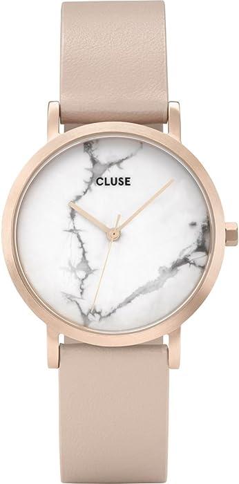 Cluse Reloj Analógico para Mujer de Cuarzo con Correa en Cuero CL40109