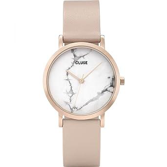 best deals on best wholesaler shop CLUSE Femmes Analogique Quartz Montre avec Bracelet en Cuir ...