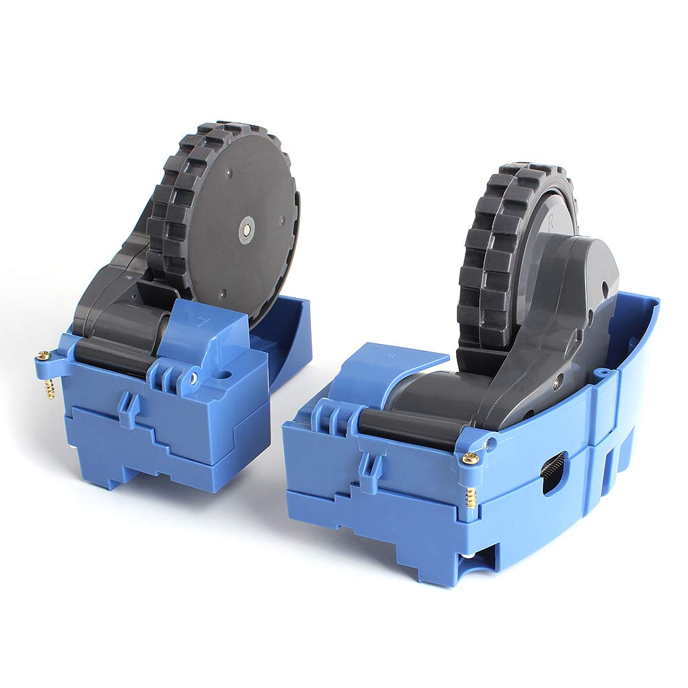 COLOR TREE Right and Left Drive Wheel Module Pair for iRobot Roomba 500 600 700 Series