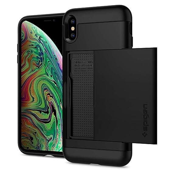 the best attitude 24358 3963f Spigen Slim Armor CS Designed for Apple iPhone Xs MAX Case (2018) - Black