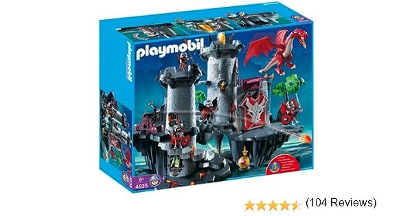 PLAYMOBIL Dragones - Gran Castillo dragón (4835): Amazon.es ...