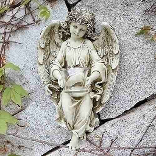 "Discount Josephs Studio Garden Statue 13.75"" Angel with Tealight Holder hot sale"