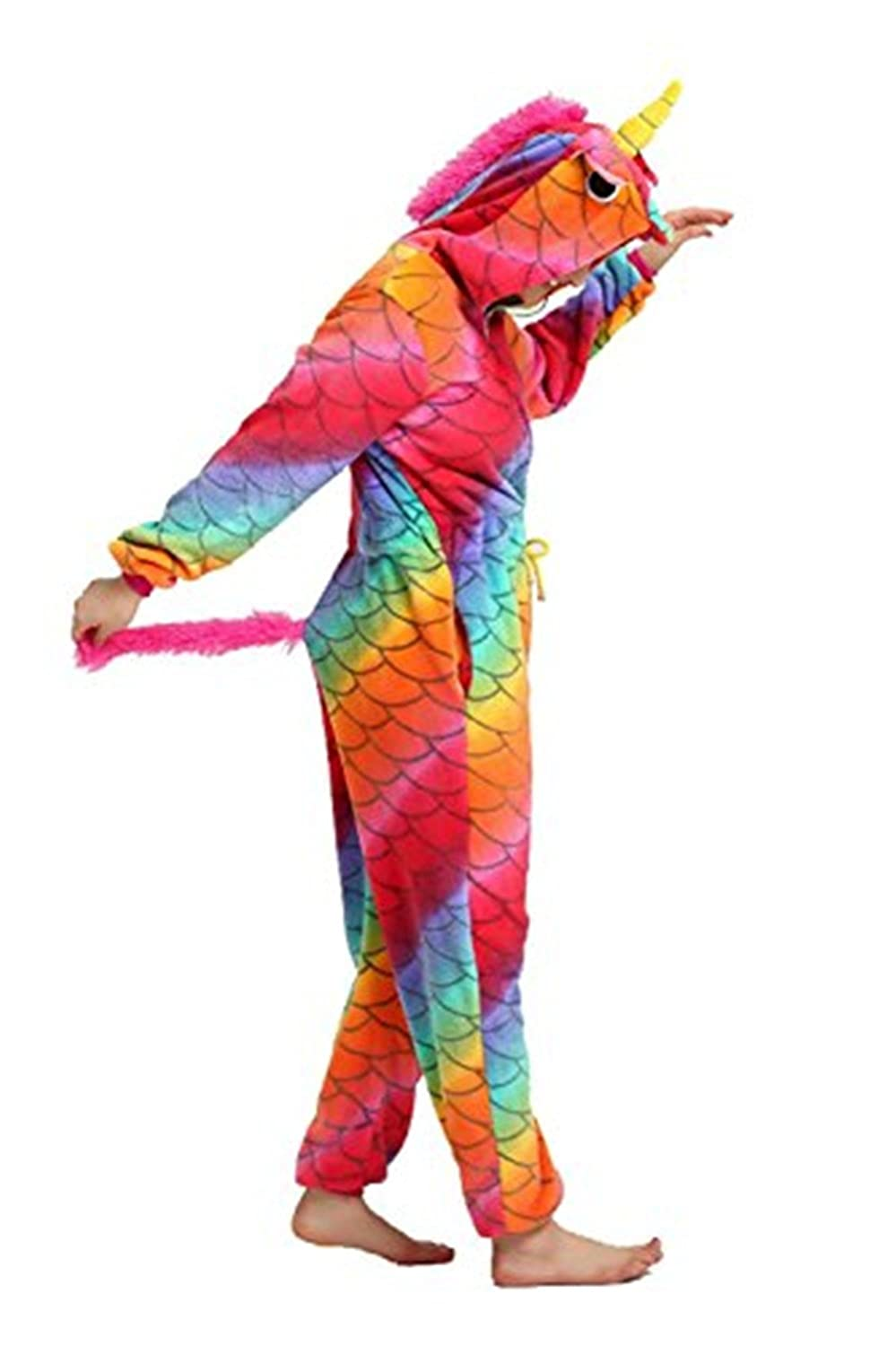 Amazon.com: Misslight Unisex Pajamas Unicorn Animal Pajamas Unicorn Cosplay Costume Pajamas Sleeping Wear: Clothing