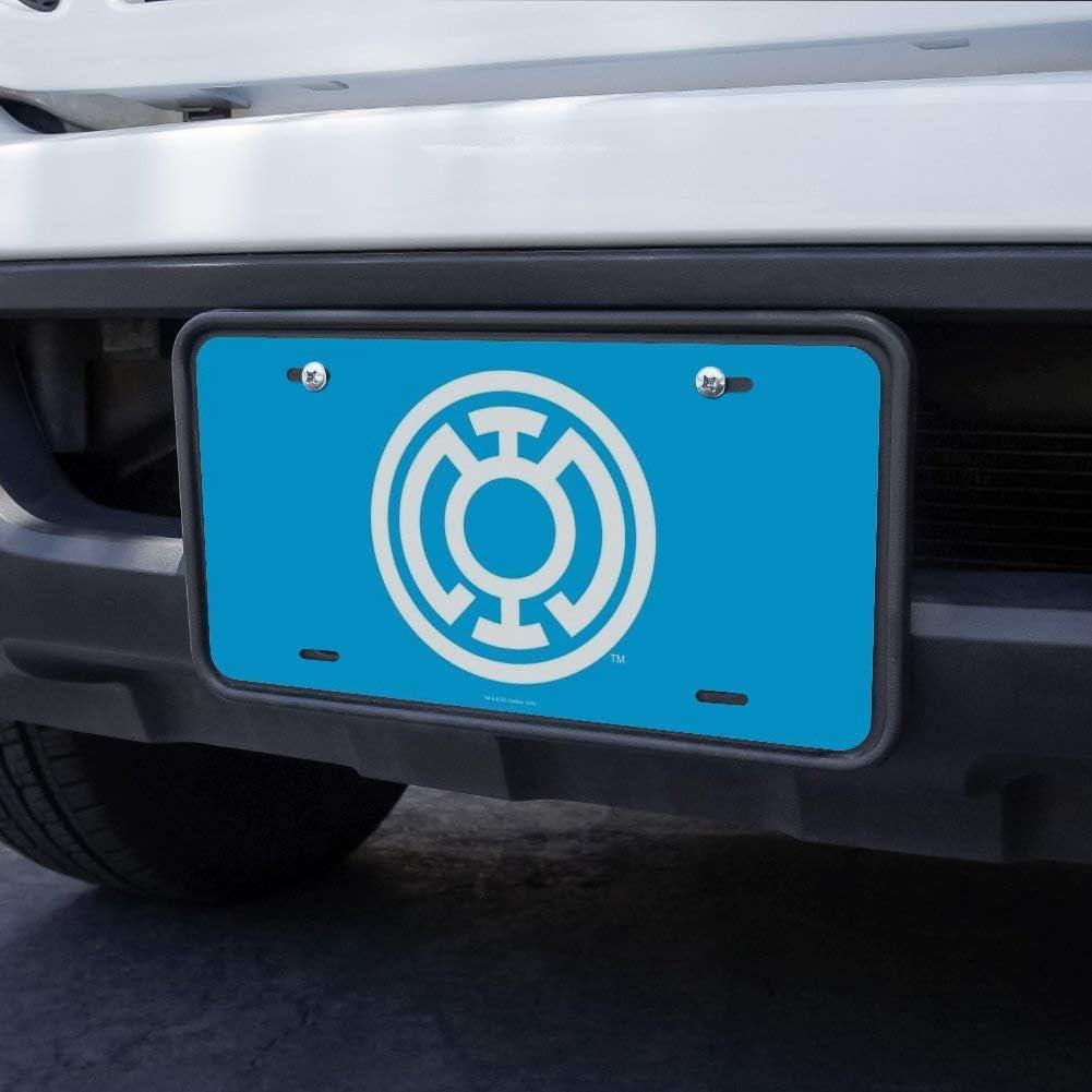 Graphics and More Green Lantern Blackest Night Blue Lantern Logo Novelty Metal Vanity Tag License Plate