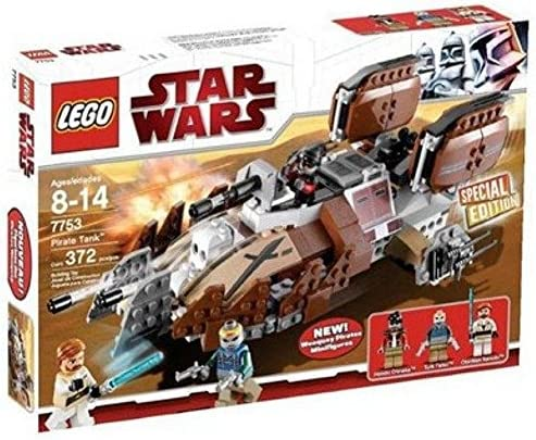 LEGO 7753 Star Wars PIRATE TANK NUOVO OVP Sigillato