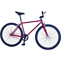 Helliot Bikes Fixie Tribeca H24 Bicicleta Urbana, Unisex Adulto, Rojo, Talla Única