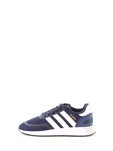 best service 5dc24 65f3b Adidas Originals DB0961-N-5923 Hombre Azul-Blanco 8œ  Amazon.es  Zapatos y  complementos