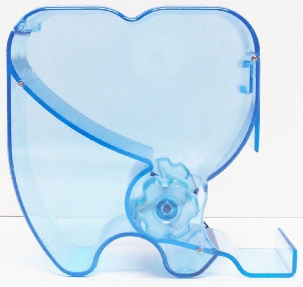 2Pcs Dental Blue Cotton Roll Dispenser Holder Organizer by fly-dent