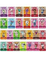 26 pcs Mini NFC-kaarten voor Animal Crossing New Horizons Series 1-4 voor Switch / Switch Lite / Wii U / New 3DS met kaartenhoes