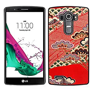 MOBMART Carcasa Funda Case Cover Armor Shell PARA LG G4 - Vibrant Rose Colored Art Piece