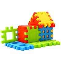 SARTHAM, Building Block Toy for Kids, Age 2 to 5 (Multicolour)