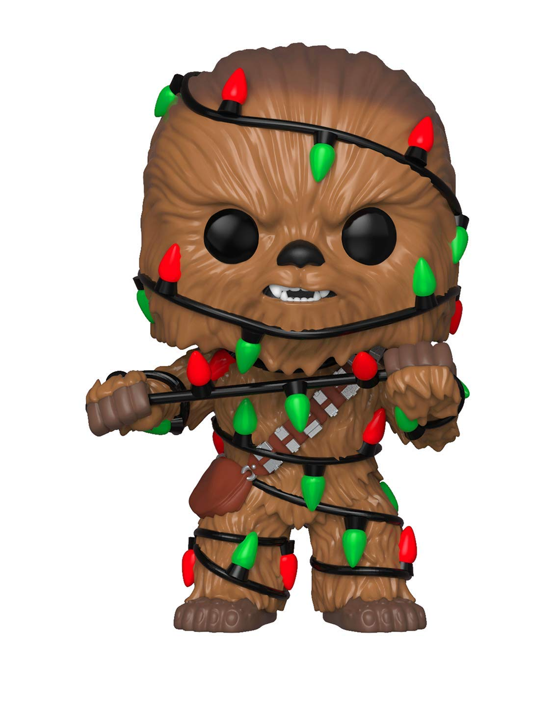 Funko Pop Star Wars: Holiday - Chewie with Lights Collectible Figure, Multicolor 33886