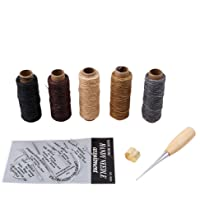LnLyin Leather Craft Tools Curved Upholstery Carpet Canvas Hand Sewing Needles with Leather Canvas DIY Sewing Accessories