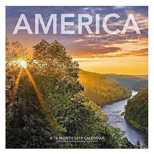 Landmark America The Beautiful Wall Calendar, 12 x 12, ()