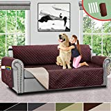 Vailge Sofa Covers for Dogs, Reversible Sofa Cover, Couch Covers for 3 Cushion