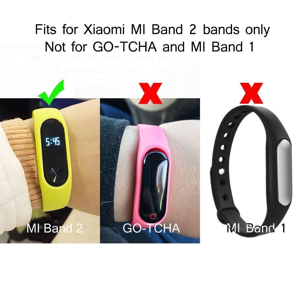 Amazon.com: Para Xiaomi Mi Band 2 bandas de repuesto para ...