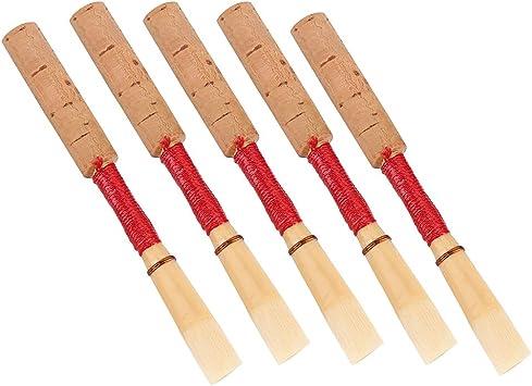 medium strength Oboe Reed  french  Cut 10 UNIT LOT natural  cork