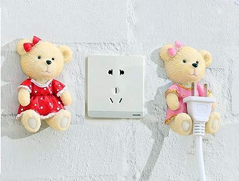 Amazon.com: Gancho de pared/soporte de cable eléctrico ...