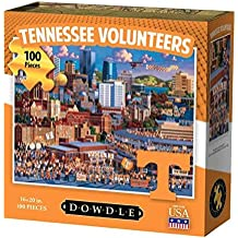 Dowdle Folk Art Tennessee Volunteers Jigsaw Puzzle (100 Piece)