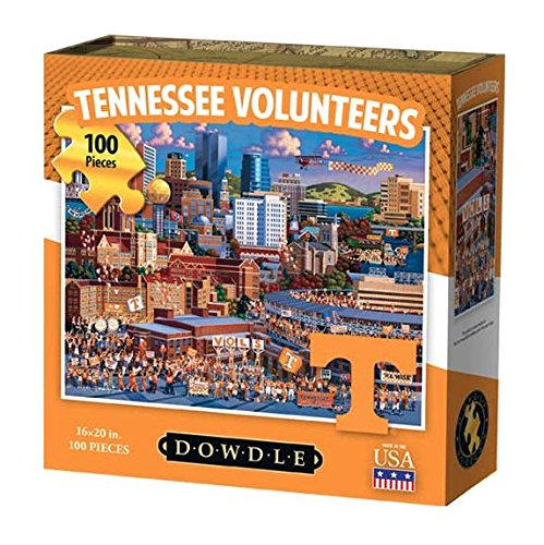 Dowdle Folk Art Tennessee Volunteers Jigsaw Puzzle (100  Pieces)