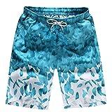Best Amurleopard Mens Swimwear - Amur Leopard Mens Qucik-Dry Surfing Sunbath Swimming Shorts Review