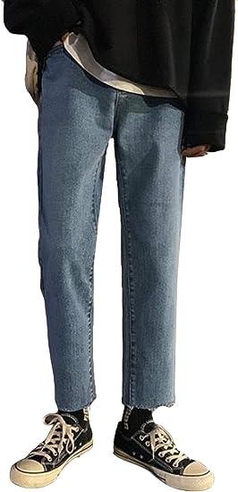 YiTongジーンズ メンズ 秋 冬 裏起毛 厚手 デニムパンツ メンズ ロングパンツ ボトムス ストレート ゆったり 通学 アウトドア ズボン メンズ カジュアル ブラックパンツ ファッション