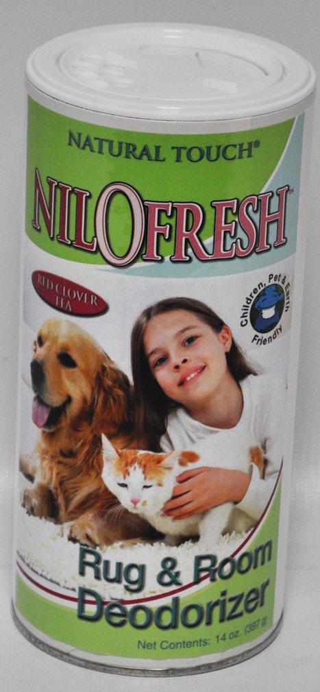 Nilofresh Rug and Room Deodorizer Red Clover Tea Scent 14 oz.