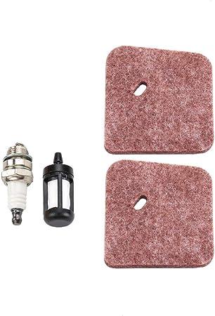 Amazon.com: Dxent FS55R - Filtro de aire para cortacésped ...